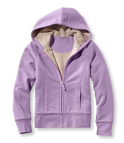 Girls' Fleece-Lined Camp Sweatshirt, Hoodie | Free Shipping at ...
