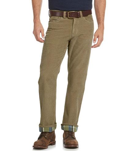 Men's L.L.Bean 1912 Pants, Corduroy Standard Fit Lined | Free ...