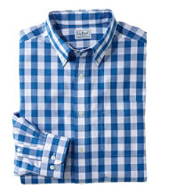 Wrinkle-Free Vacationland Sport Shirt, Slim Fit Gingham