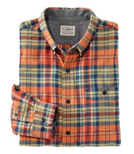 Lakewashed Flannel Shirt, Slightly Fitted Plaid