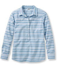 Birch Point Henley Pullover, Oxford Stripe