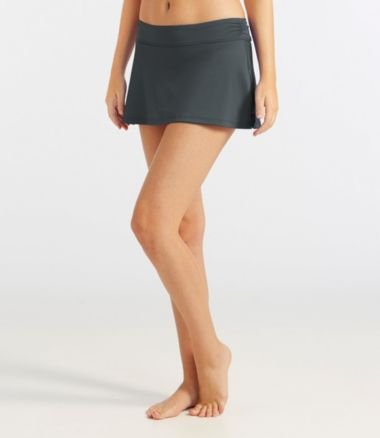 L.L.Bean Active Swim Collection, Mid-Rise Skort