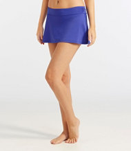 Women's L.L.Bean Active Swim Collection, Mid-Rise Skort