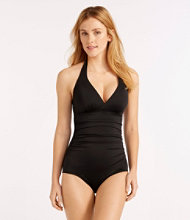 L.L.Bean Mix-and-Match Swim Collection, Halter Tanksuit