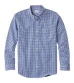 Men's Wrinkle-Free Vacationland Sport Shirt, Slightly Fitted Gingham