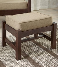 Morris Chair Footstool Slipcover