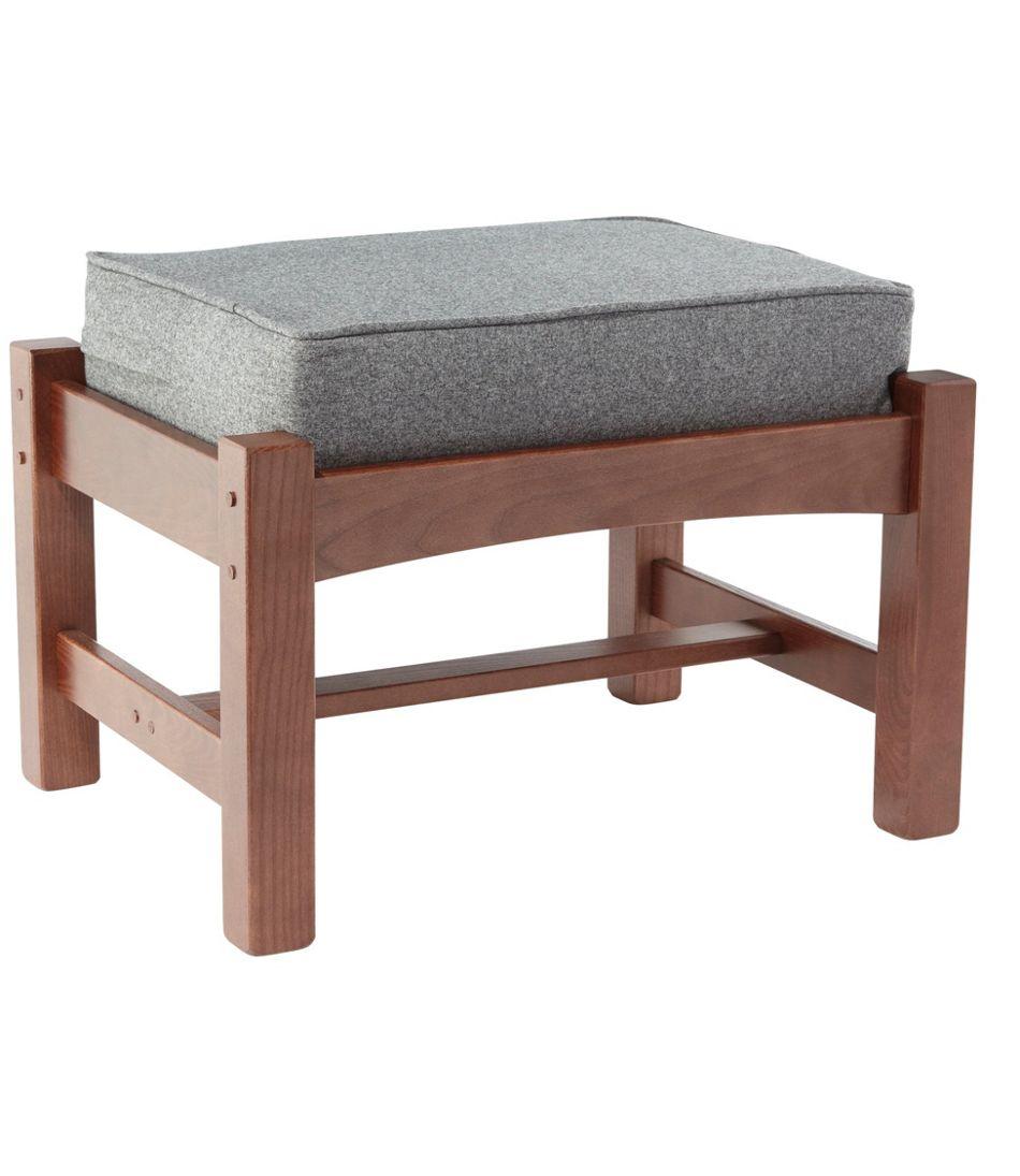 Morris Chair Footstool Slipcover