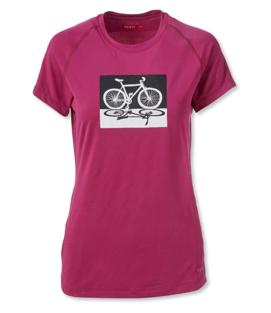 Women's Terry Tech Tee Cycling Top