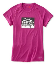 Women's Terry Tech Tee Cycling Top