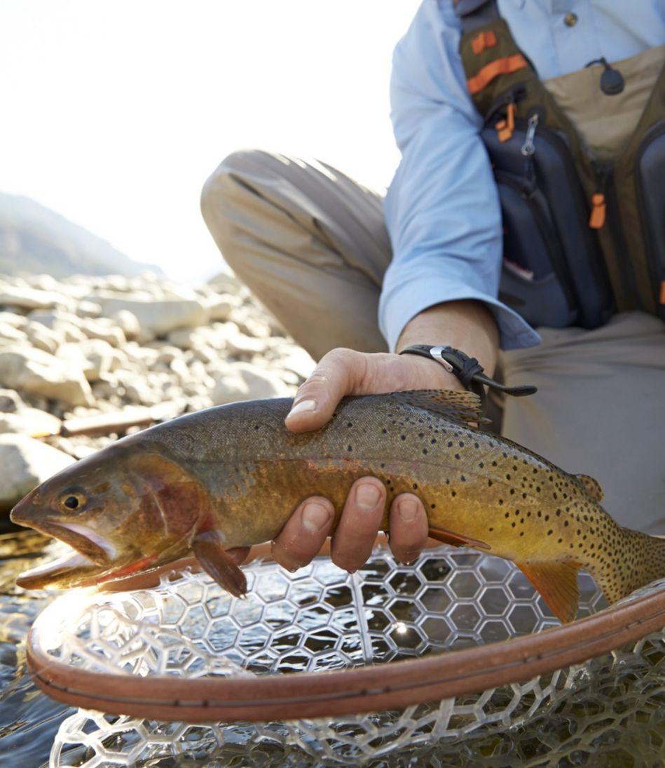 Brodin Phantom Gallatin Fishing Net Eco-Clear