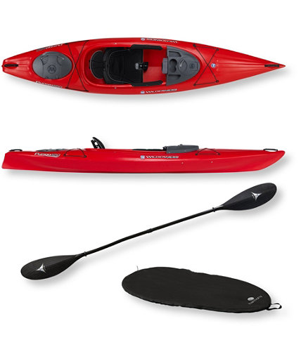Pungo 120 Deluxe Kayak Package By Wilderness Systems