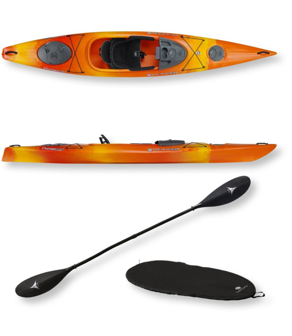 Pungo 140 Deluxe Kayak Package by Wilderness Systems