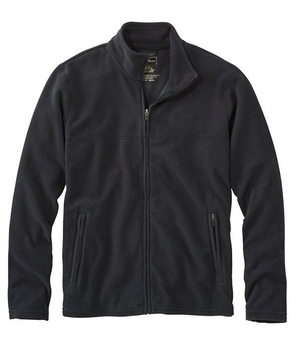 Fitness Fleece Full-Zip Jacket, Ink Black, large image number 0