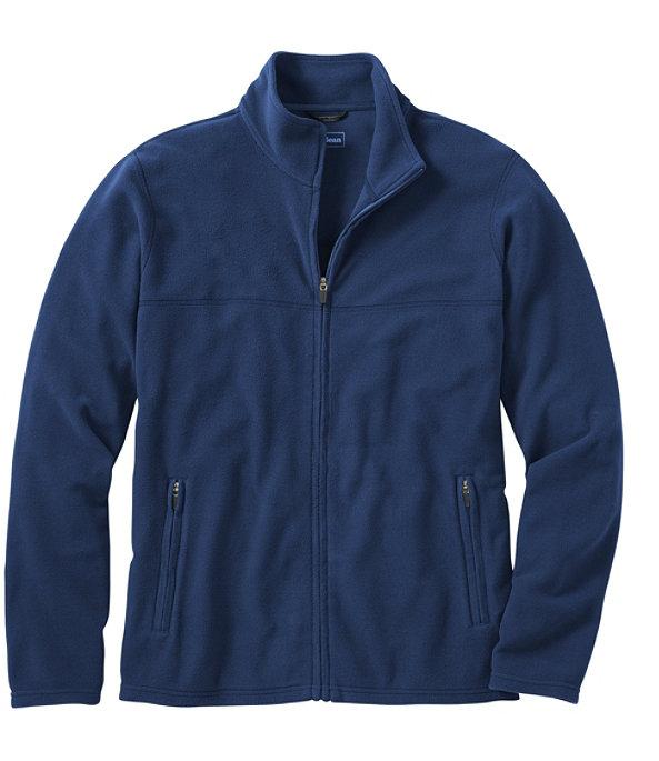 Fitness Fleece Full-Zip Jacket, Collegiate Blue, large image number 0