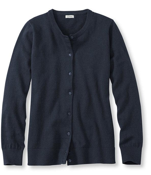Women's Cotton Cashmere Cardigan, , large image number 0