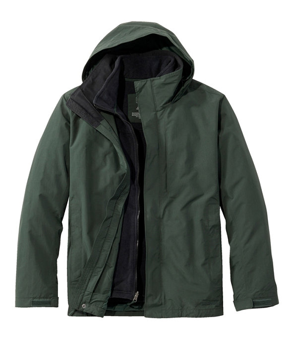 Storm Chaser 3-in-1 Jacket, Warden's Green/Black, large image number 0