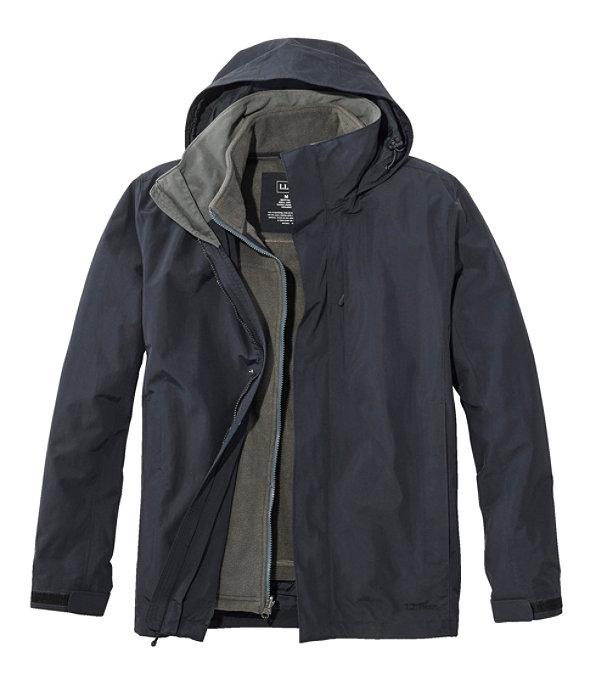 Storm Chaser 3-in-1 Jacket, Black/Shale Gray, large image number 0