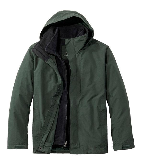 Storm Chaser 3-in-1 Jacket, Warden's Green/Black, large image number 0
