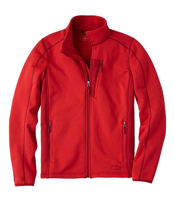 Bean's ProStretch Fleece Jacket, Dark Red, large image number 0