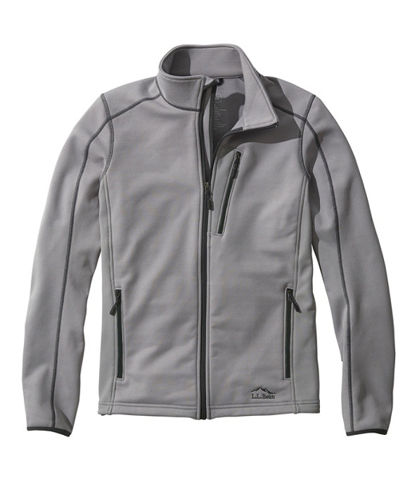 Bean's ProStretch Fleece Jacket, Quarry Gray, large image number 0