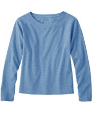 Saturday T-Shirt, Boatneck Long-Sleeve