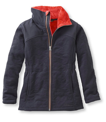 Girls' Comfy Cozy Fleece Jacket | Free Shipping at L.L.Bean