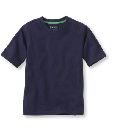 Boys' L.L.Bean Unshrinkable Shirt, Short-Sleeve