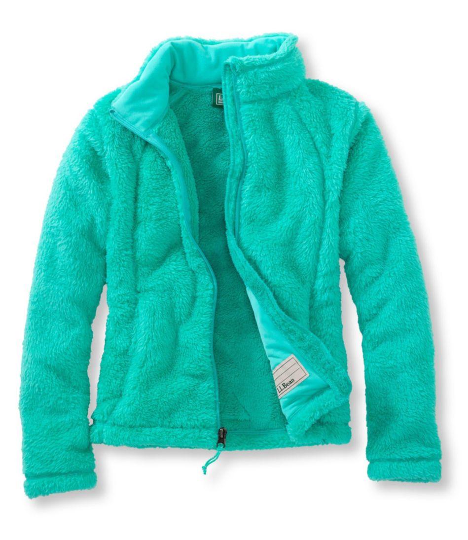 Girls' Hi-Pile Fleece Jacket