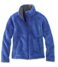 Girls' Hi-Pile Fleece Jacket