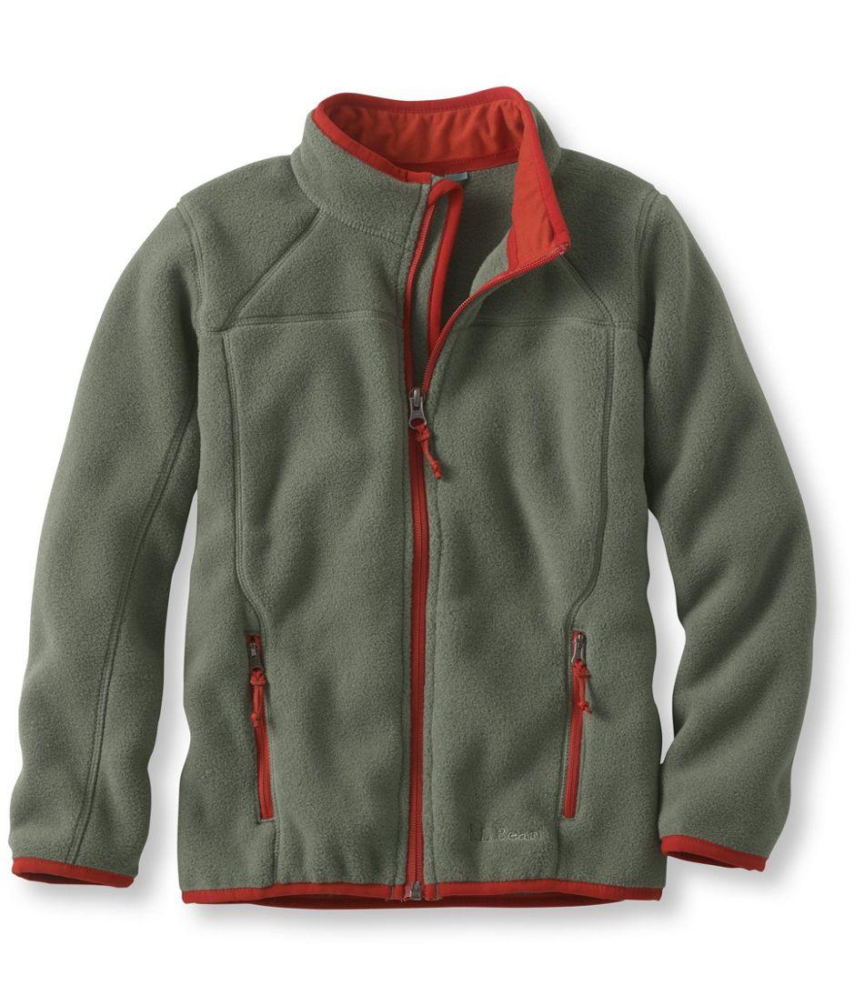 7eb7d9459f29 Boys  Trail Model Fleece Jacket
