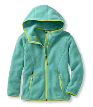 Girls' Trail Model Fleece Jacket, Hooded