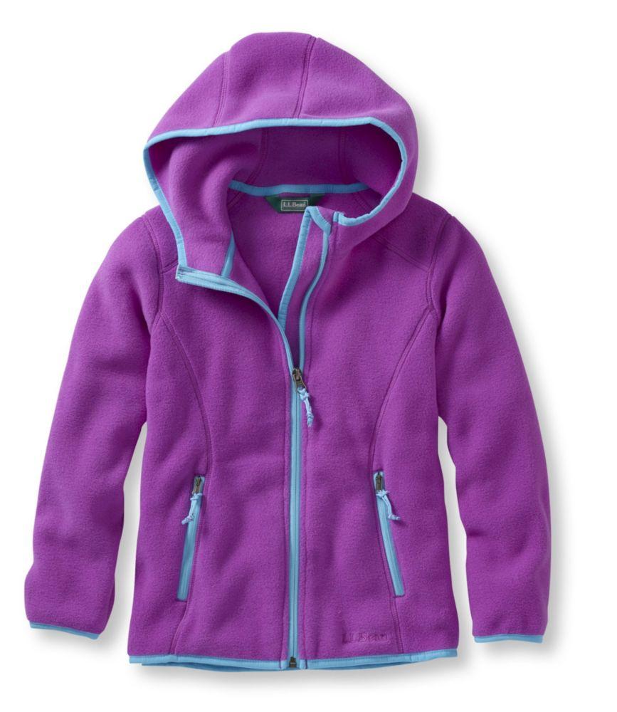 photo: L.L.Bean Kids' Trail Model Fleece Hooded Jacket fleece jacket