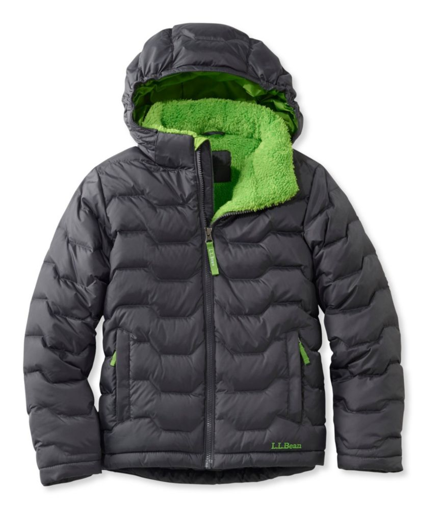 photo: L.L.Bean Boys' Fleece-Lined Down Jacket