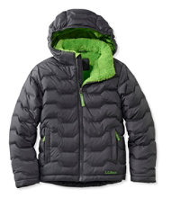 Boys' L.L.Bean Fleece-Lined Down Jacket