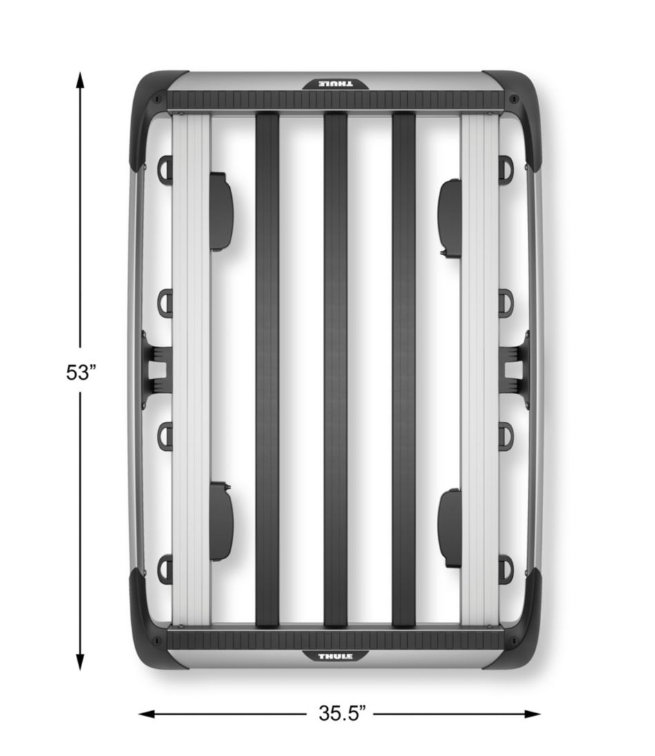 Thule Trail 864 Roof Top Basket, Small
