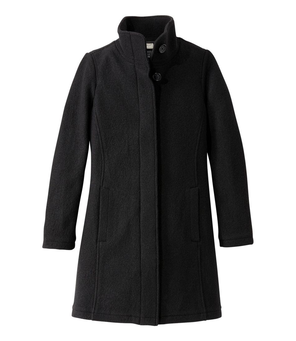 Women's L.L.Bean Boiled Wool Coat