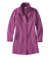 Women's L.L.Bean Boiled Wool Coat
