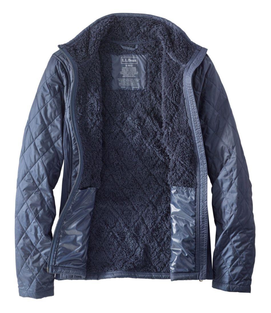 Women's Fleece-Lined Fitness Jacket