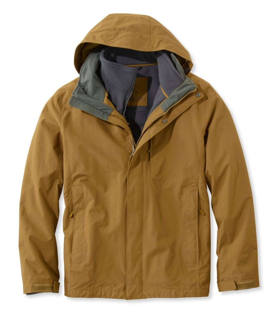 photo: L.L.Bean Storm Chaser 3-in-1 Jacket component (3-in-1) jacket