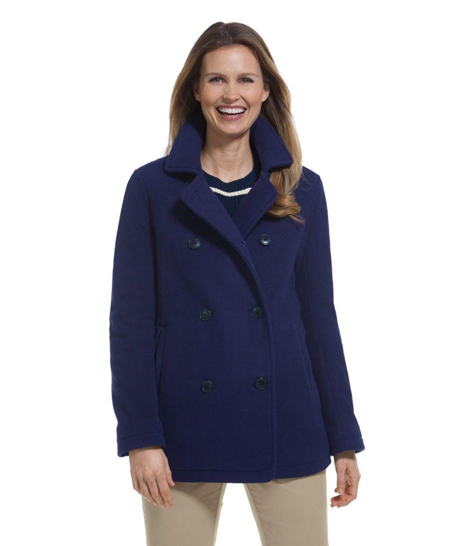 Women's L.L.Bean Fleece Peacoat