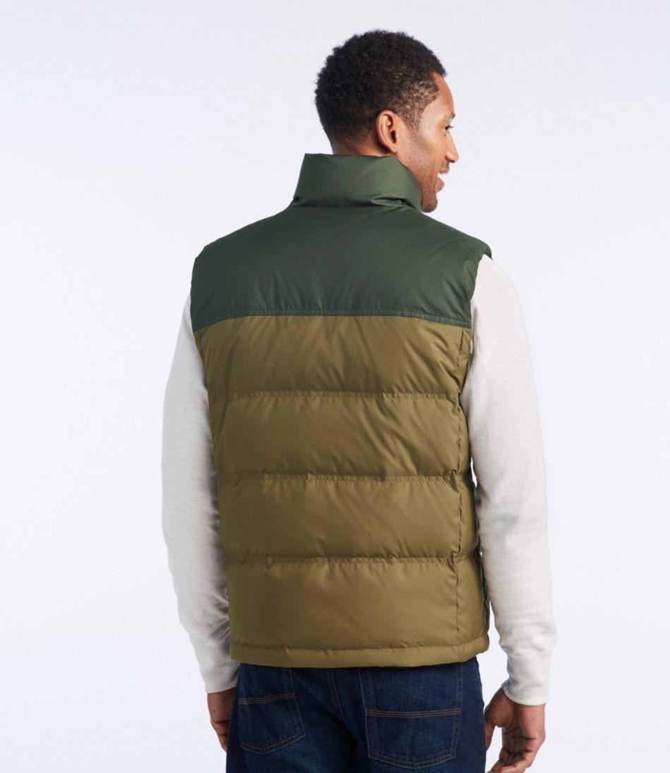 Trail Model Down Vest, Two Tone