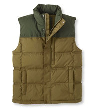 Trail Model Down Vest, Two Tone