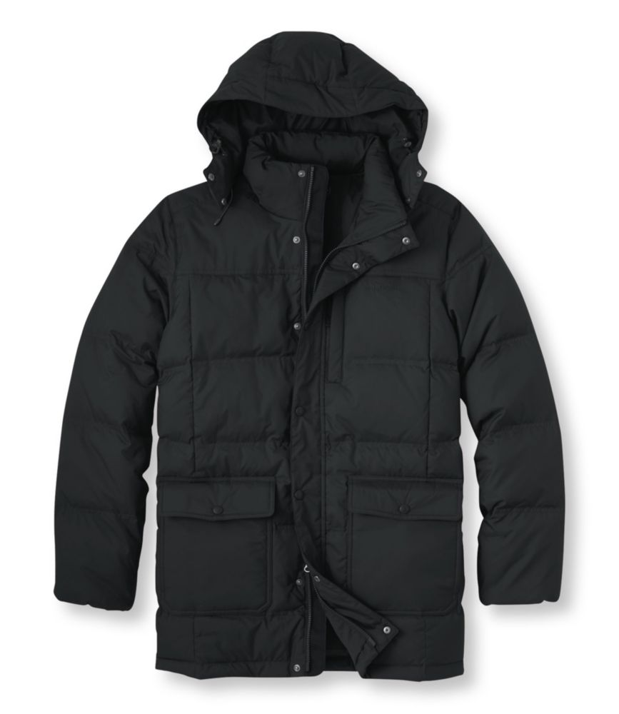 photo: L.L.Bean Men's Trail Model Down Hooded Parka