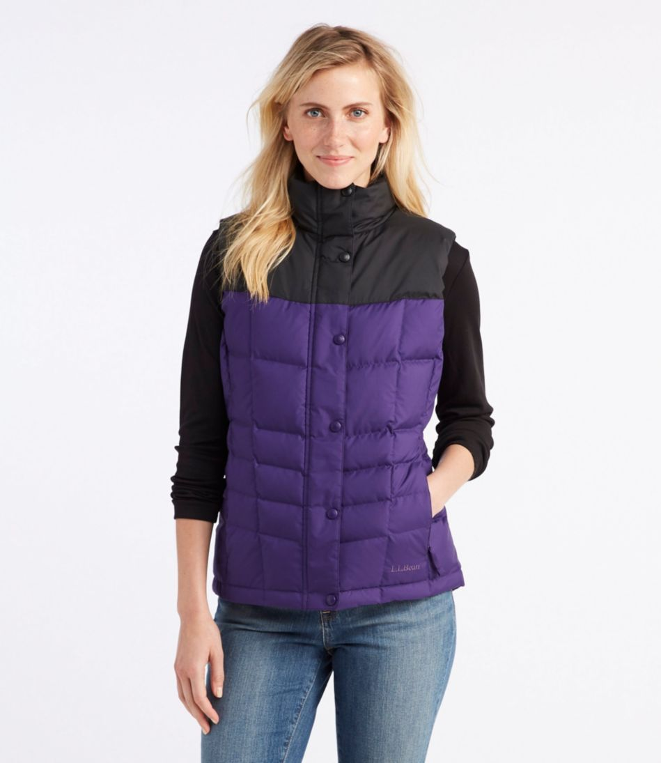 Trail Model Down Vest, Two-Tone