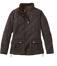 L.L.Bean Upcountry Waxed-Cotton Down Jacket