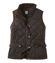 L.L.Bean Upcountry Waxed-Cotton Down Vest