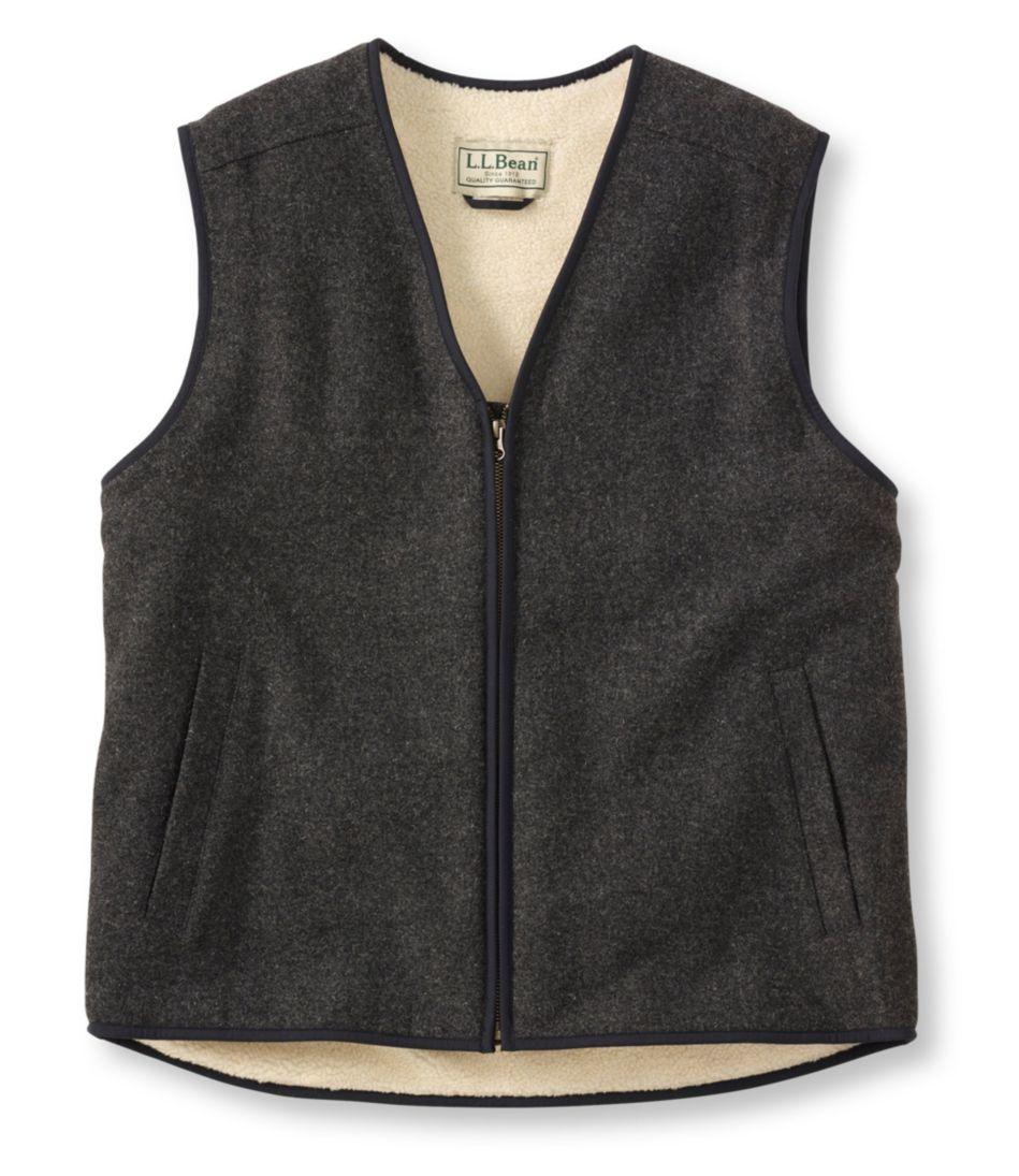 Fleece-Lined Wool Vest