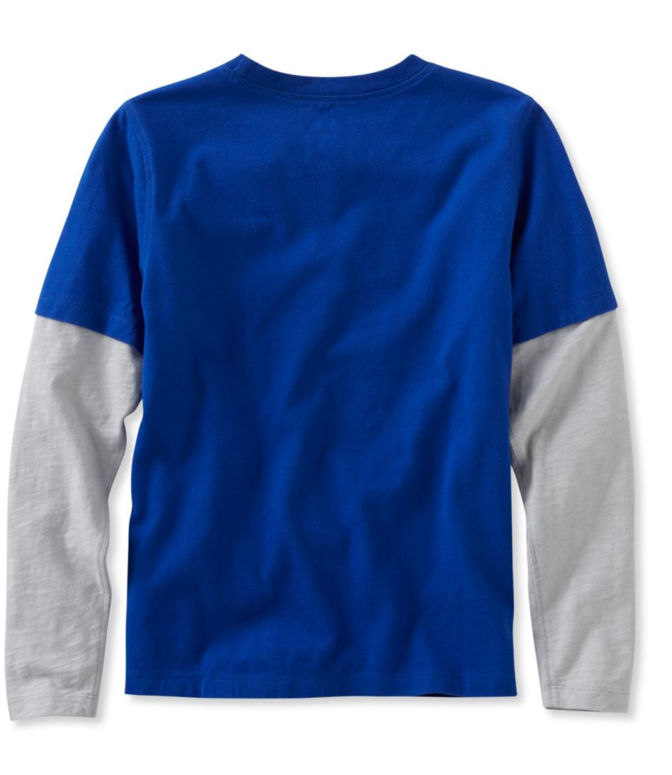 Boys' Double-Layer Graphic Tee
