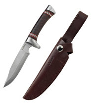 L.L.Bean Stacked Leather Hunting Knife
