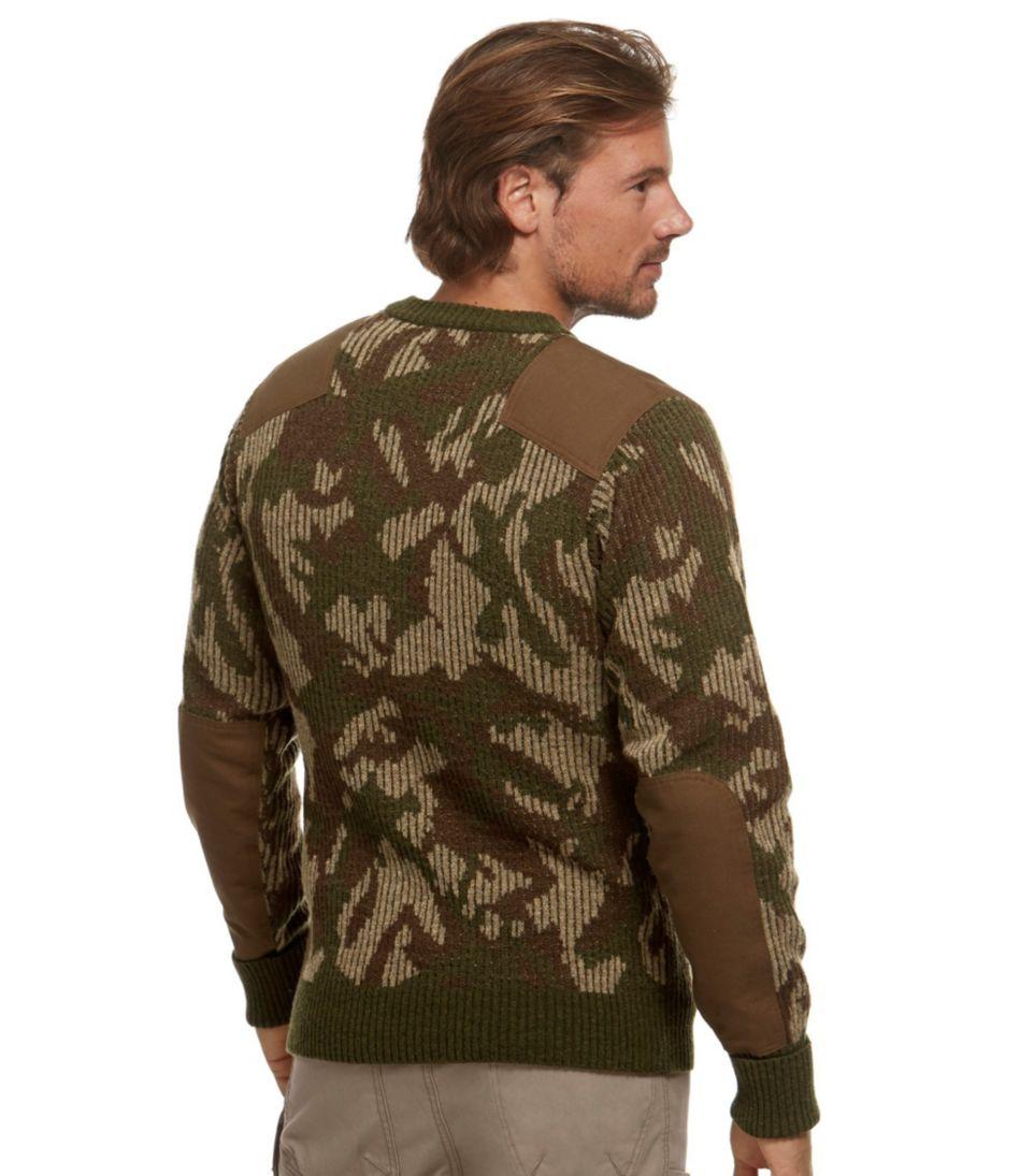 Commando Sweater, Camouflage Crewneck